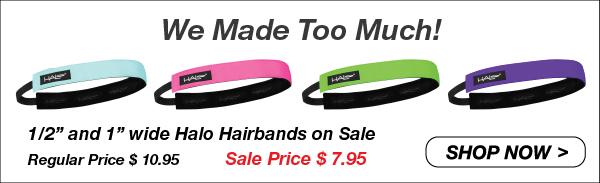 Halo Hairband Athletic Headbands For Women Sports Hairbands
