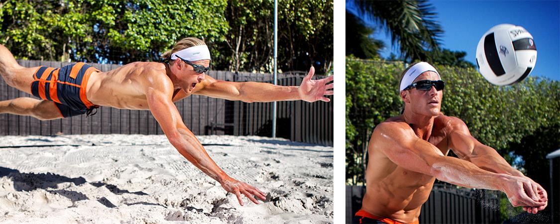 halo wide sweatband sweat headbands for women men