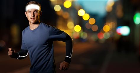 Illuminator Halo V - Reflective Velcro® Adjustable Headband