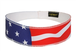 USA Flag Halo II - pullover headband