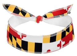 Maryland Flag Halo I - tie version