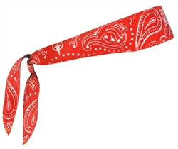 Paisley Red Halo I - tie version