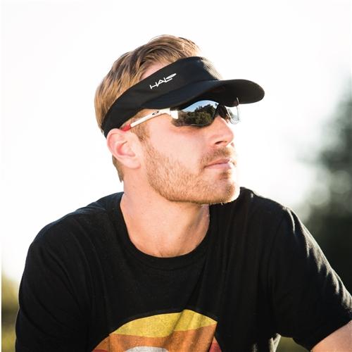 Halo Headband V Grip Hook and Loop Sweatband White