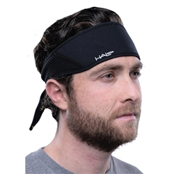 Halo X3 tie back headband